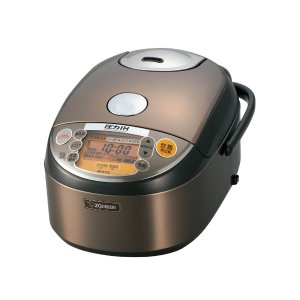 $285.00 Zojirushi NP-NY10 Induction Heating Pressure Cooker (Uncooked) and Warmer, 5.5 Cups/1.0-Liter