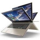 "Toshiba Satellite Fusion L55W-C5357 Signature Edition 15.6"" FHD Touchscreen IPS 2-in-1 Laptop (i5-6200U 8GB 1TB)"