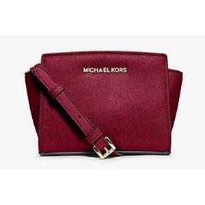 Selma Mini Saffiano Leather Crossbody | Michael Kors