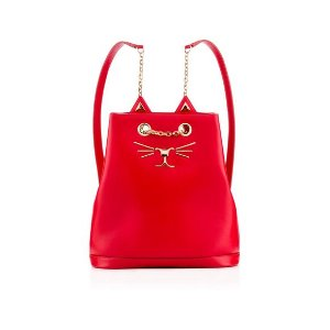 FELINE BACKPACK|BACKPACK|Charlotte Olympia HANDBAGS