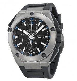 IWC Ingenieur Double Chronograph Automatic Titanium Men's Watch IW3865-03