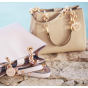 MICHAEL Michael Kors Cynthia Small North South Satchel Sale @ Macys.com