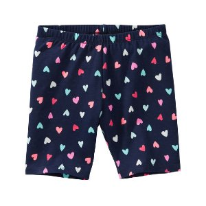Toddler Girl Heart Print Playground Shorts | OshKosh.com