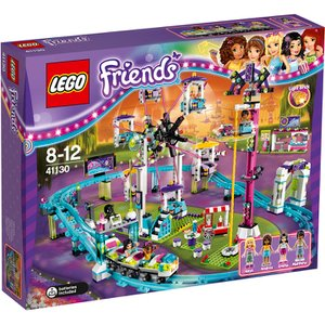 LEGO Friends: Amusement Park Roller Coaster (41130) Toys | TheHut.com
