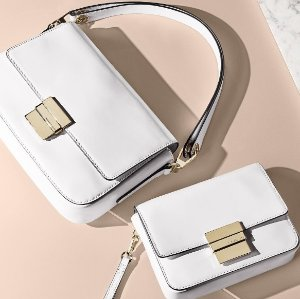 Up to 50% Off MICHAEL MICHAEL KORS Optic White Handbags Sale @ Michael Kors