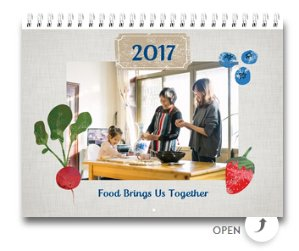 Personalized Wall Calendar 8.5