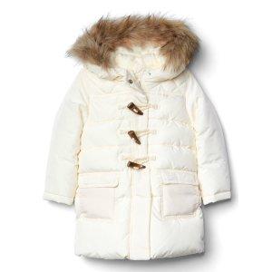 Fur-trim duffle jacket | Gap