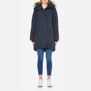 Canada Goose Women's Rossclair Parka - Ink - Free UK Delivery over £50