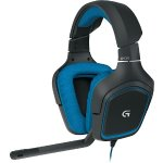 Logitech G430 Over-the-Ear Gaming Headset Black