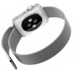 Penom 42mm Stainless Steel Mesh Loop Milanese Band with Magnetic Clasp for Apple iWatch Sports Edition