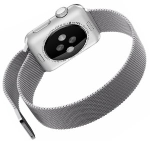 Penom 38mm Stainless Steel Mesh Loop Milanese Band with Magnetic Clasp for Apple iWatch Sports Edition