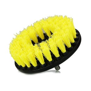 $7.96 Chemical Guys ACC_201_BRUSH_MD Medium Duty Carpet Brush with Drill Attachment, Yellow