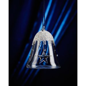 SWAROVSKI 2016 Small Bell Christmas Ornament