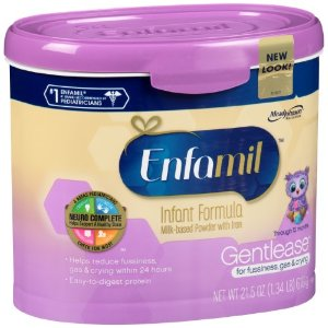 Enfamil Gentlease Milk-Based Formula, Powder, for Fussiness, Gas, and Crying, 21.5 Oz | Jet.com