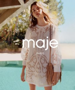 Extra 25% Off with Maje Purchase @ Bloomingdales