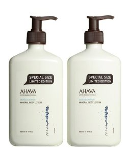 $48 AHAVA Mineral Body Lotion Duo @ Nordstrom