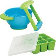 NUK Annabel Karmel FreshFoods Freezer Tray with Mash & Serve Bowl Bundle