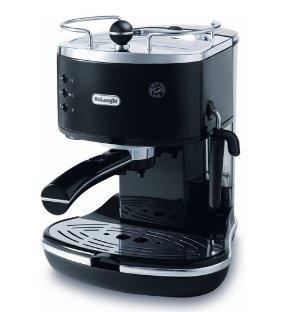 DeLonghi ECO310BK 15 Bar Icona Pump Espresso Latte & Cappuccino Maker Tamper