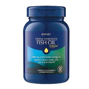 GNC Triple Strength Fish Oil Mini