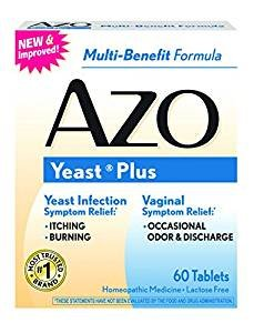 $23.09 AZO Yeast Plus tablets, 60 each  (Pack of 3)
