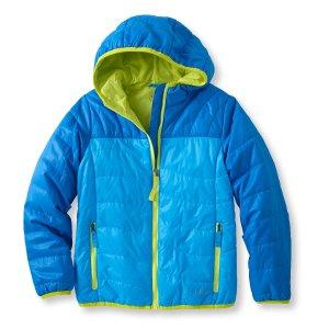 Kids' Girls Puff-n-Stuff Jacket | Now on sale at L.L.Bean