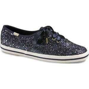 Women - KEDS X kate spade new york CHAMPION GLITTER - Multi Navy Glitter | Keds