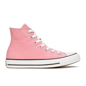 Converse Women's Chuck Taylor All Star Hi-Top Trainers - Daybreak Pink/White/Black - FREE UK Delivery