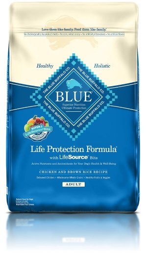Blue Buffalo Life Protection Dry Adult Dog Food, 30 lb