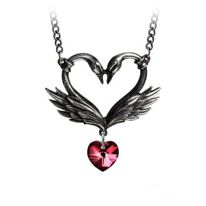 The Black Swan Romance Necklace - ApolloBox