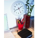 RUSCH wall clock, white
