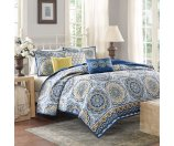 Madison Park Moraga 6-piece Coverlet Set - 16119937 - Overstock.com Shopping - Great Deals on Madison Park Quilts