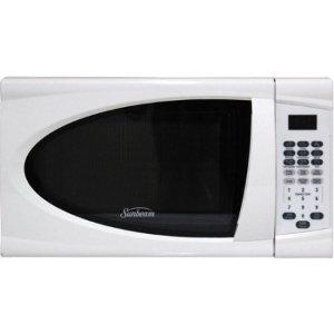 Sunbeam 0.7 CuFt 700 Watt Microwave Oven SGDJ701, White