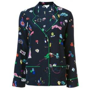 Mira Mikati Printed Pajama Set | Kirna Zabete