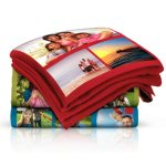 Collage Fleece Blanket