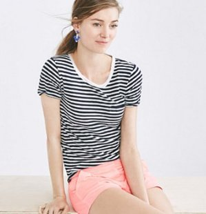 40%-60% Off Select TEES, TANKS AND SHORTS @ J.Crew Factory