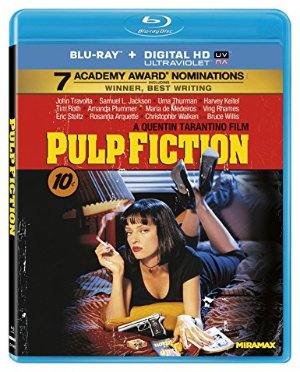 Only $4 EachPulp Fiction and more Amazon Blu-rays Movies