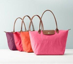 $75 Off $300 Selected Longchamp Handbags and Wallet @ Bloomingdales