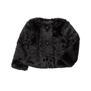 Faux Fur Coat at Crazy 8