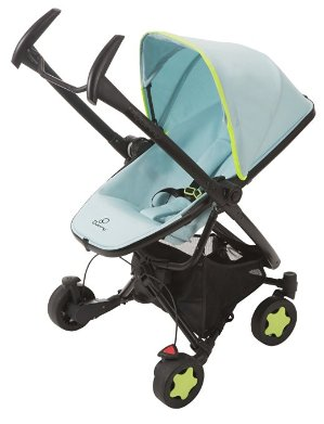 Quinny Limited Edition South Beach Zapp Xtra Stroller with Folding Seat, Blue