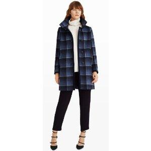 Airlia Plaid Coat