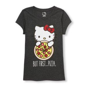 短袖Hello Kitty T恤