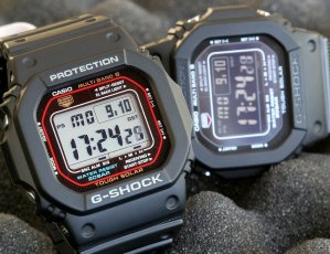 $91.46 Casio Men's GWM5610-1 G-Shock Solar Watch
