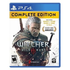 The Witcher 3: Wild Hunt Complete Edition - PS4/XB1