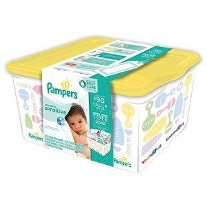 Pampers Swaddlers Sensitive Diaper Registry Tote