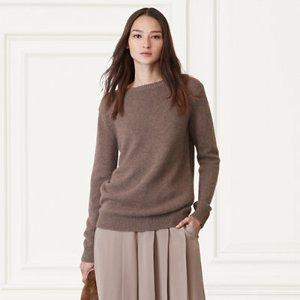 Cashmere Sweater - Scoop, Crew & Boatnecks � Sweaters - RalphLauren.com