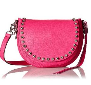$74.33 Rebecca Minkoff Unlined Saddlebag Shoulder Bag