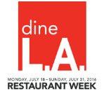 运通卡满$21返$5洛杉矶美食周Dine L.A活动来袭