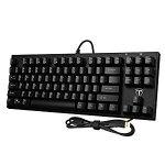TOMOKO 87 Key Mechanical Keyboard, Water-Resistant Mechanical Gaming Keyboard with Blue Switch