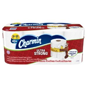 Charmin Ultra Strong Toilet Paper, White, 16 Mega Rolls | Jet.com