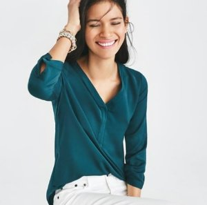 50% Off Select Tops and Shirts @J.Crew Factory